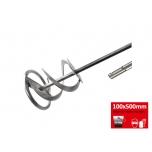 Vispel, spiraal SDS 100x500mm
